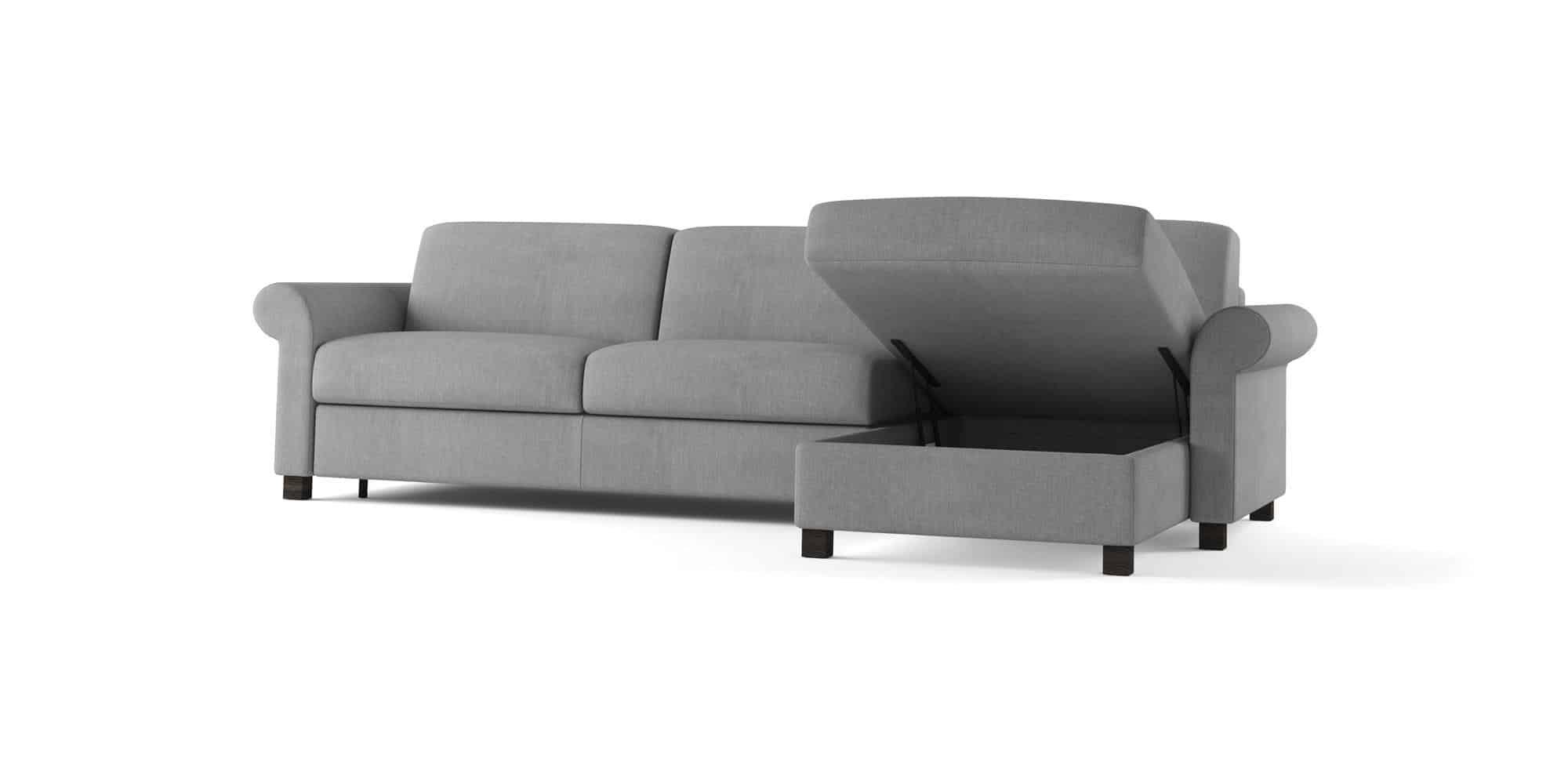 Amerigo classic – Composizione con Chaise Longue contenitore – 280×166