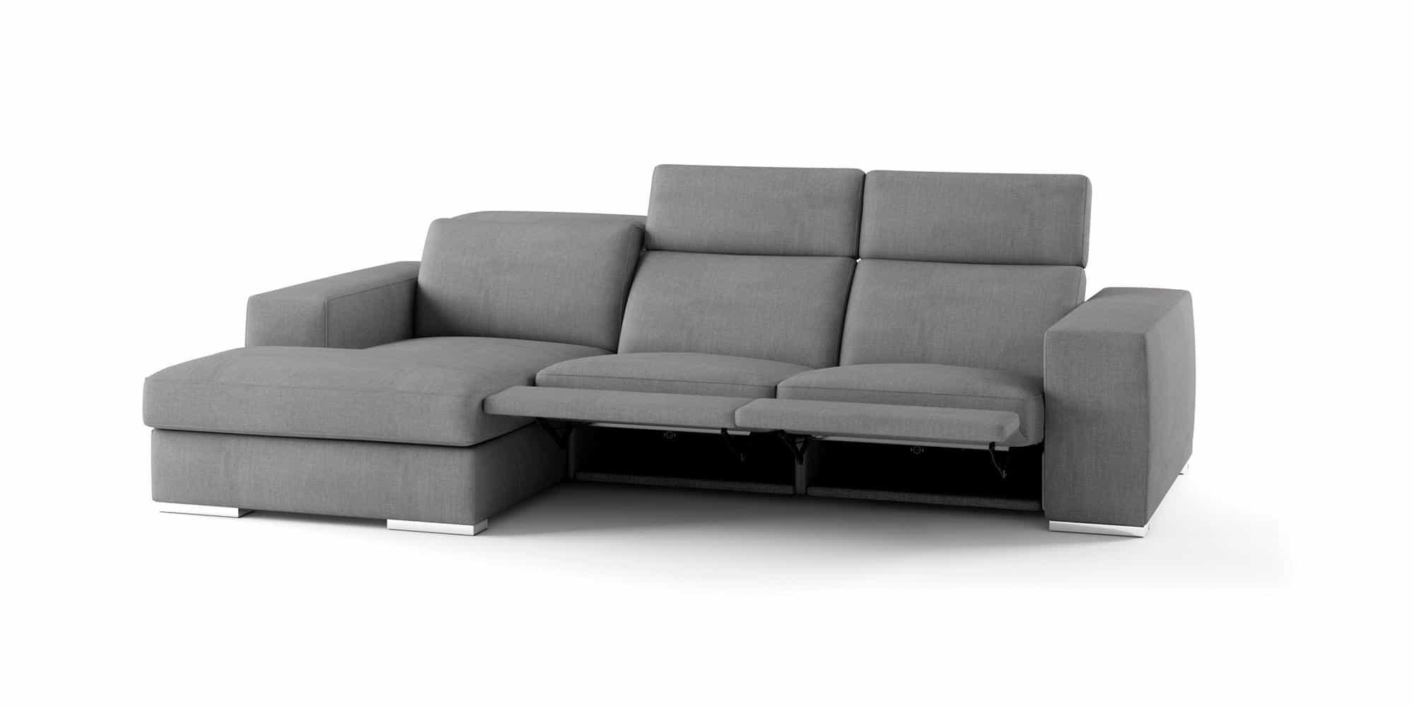 Bellagio large – Composizione Relax con Chaise Longue – 282×110(160)